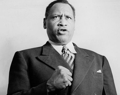 One of the greatest American artists, athletes and leaders of the 20th Century, Paul Robeson was also a Communist, and was threatened with death because he scheduled to sing at Peekskill. Robeson was blacklisted in a more vicious manner than any of the