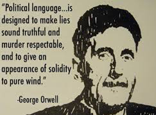 george orwell in his essay politics and the english language pointed out that