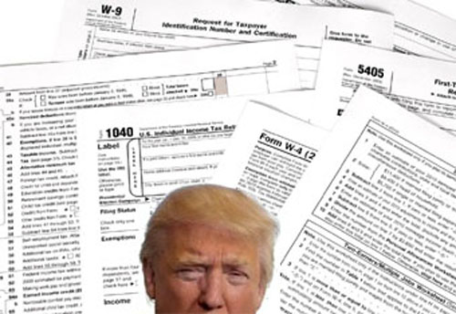 By the eve of the first presidential debate, only Donald Trump's most devoted disciples are claiming there is no reason for The Donald to release his federal income tax returns, but the Republican candidate continues to cover up the only documents that will finally demonstrate what a liar and cheat he is in his business dealings.