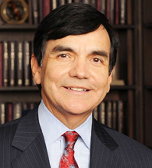 A recent photo of attorney George Munoz, who served as President of the Chicago Board of Education during the mid-1980s.