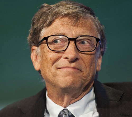 Whenever Bill Gates pontificates on a social issue, his apologists usually ignore the fact that Bill Gates came from one of the wealthiest families in Seattle. Also ignored is the fact that Microsoft has made most of its money by buying up the patents and copyrights on the work of others and then defending its
