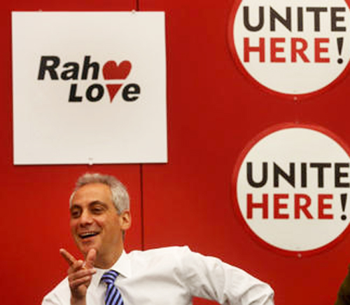 After scabbing for Rahm Emanuel during the Chicago Teachers Strike of 2012, Unite HERE, once a union, doubles down for Rahm with its 2015