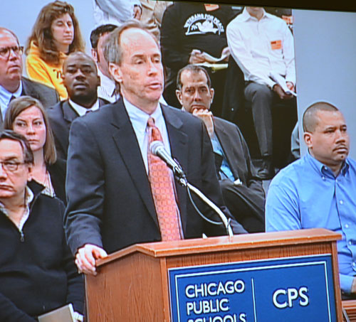 One of the many CPS executives who never taught a day in a Chicago classroom is so-called