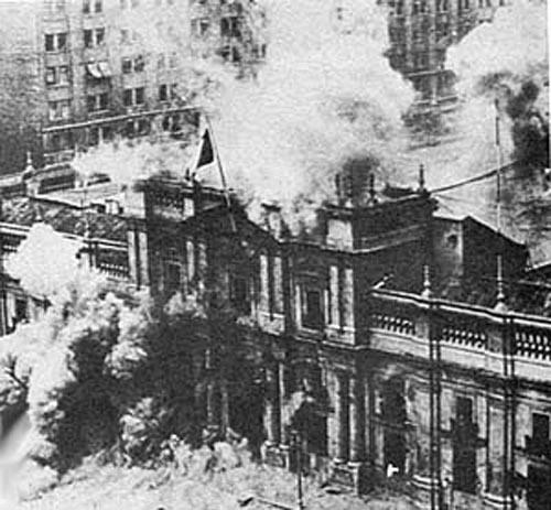 بمباران کاخ ریاست جمهوری