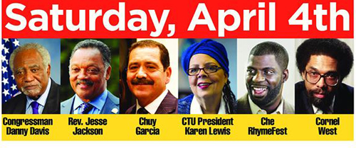 Saturday rally features local and national speakers.