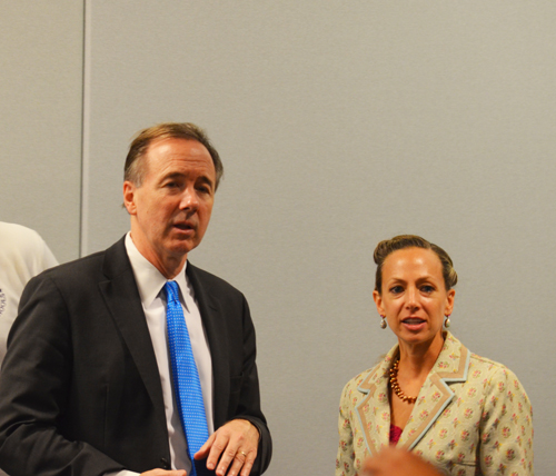 Above, Chief Executive Officer of Chicago Public Schools Forrest Claypool  with