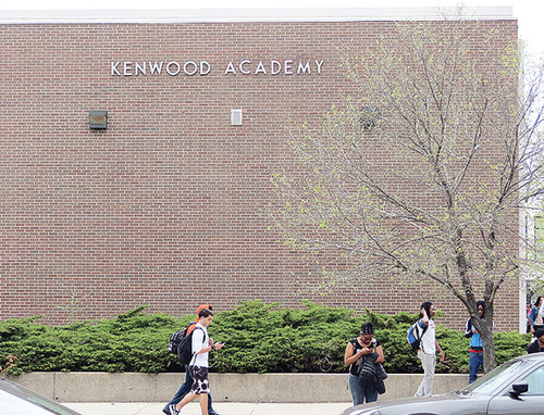 Kenwood High School in Chicago serves the University of Chicago's Hyde Park community and is not a part of Chicago's vast South Side poverty ghetto. Photo from the Hyde Park Herald.