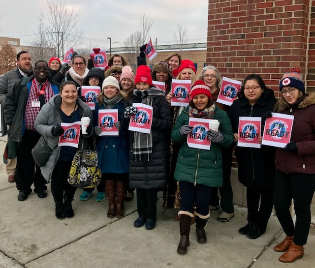 Charter school teachers will be on the picket line Dec. 4., 2018.