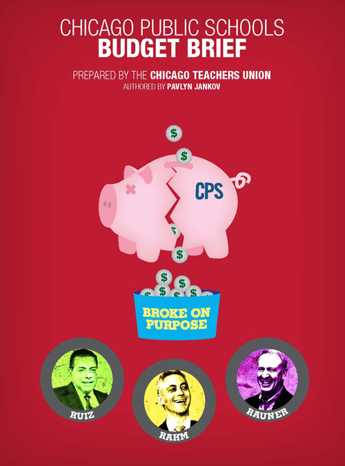 Issued July 1, 2015, the CTU budget analysis proves that budget claims by Rahm Emanuel and the Board of Education since May 2011 have been lies.