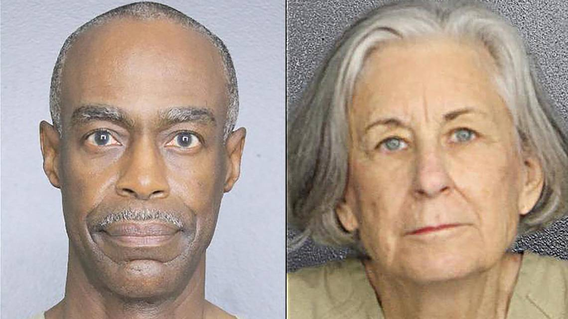 Broward Public Schools Superintendent Robert Runcie, left, and the ​Broward​ School Board's general counsel, Barbara Myrick, right, were arrested Wednesday. Runcie has been charged with one count of perjury stemming from his grand-jury testimony related to school safety funding. Myrick has been charged with one count of unlawful disclosure of statewide grand jury proceedings. (pic from www.miamiherald.com)