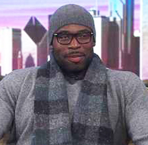 Chicago Bears player Isreal Idonije (above) is once again doing robo-calls promoting the